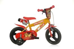 12 Zoll Lion Guard König der Löwen Kinderfahrrad Kinderrad Spielrad Fahrrad Rad Bike DINO-Bike -