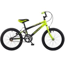 18 Zoll Concept Viper Kinderfahrrad MTB Mountainbike schwarz grün -