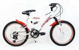 "20"" 20 Zoll Kinderfahrrad Mountainbike Vollgefedert Kinder Fahrrad RAD BIKE Jugendfahrrad TIGER ROT -"
