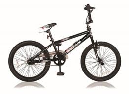 20 ZOLL BMX KINDER BIKE FAHRRAD RAD KINDERFAHRRAD JUGENDFAHRRAD Freestyle 360° ROTOR 4 Pegs MAGNUM SCHWARZ -