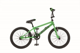 20 ZOLL BMX KINDER FAHRRAD RAD KINDERFAHRRAD JUGENDFAHRRAD Freestyle 4 Pegs BURNER GRÜN -