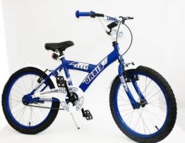 20 ZOLL BMX KINDER FAHRRAD RAD KINDERFAHRRAD JUGENDFAHRRAD Kinderrad Blau CRAZY -
