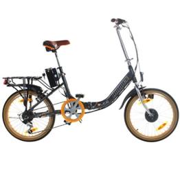 20 Zoll Viking Hopper Elektrofaltrad HOP103 Alu Grau Pedelec Klappbar E-Bike -