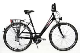 28 Zoll Aluminium 27 Gang Damen SRAM X.9 RH 52 cm Mifa Fahrrad STVZO Ausstattung -