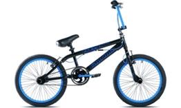 Capriolo BMX Bike 20 Zoll, 360° Rotor-System, 4 stahl Pegs, Chrom-Kettenblatt, Freilauf -