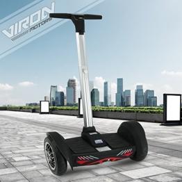 E-Balance Scooter Segwheel Elektroroller Smart Wheel Elektro E-Skateboard E-Board (schwarz) -