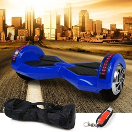 E-Balance Wheel MonoRover M.1 E-Scooter Smart Board Elektroroller Elektro Scooter (blau) -