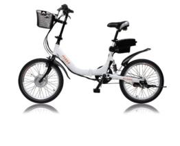 "E-Bike, Elektrofahrrad, FLEXX 20"", E-Klapprad, Riemenantrieb, 3-Gang Shimano, gefedert, Faltrad, 250W, 36V, 9 Ah, LightSKIN LED Sattelstütze, Ebike, Pedelec faltbar, Mobilitätspaket, Camping, Marine, Pendler, Cityflitzer -"