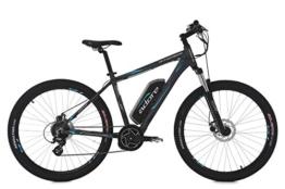 "E-Bike MTB Hardtail 27,5"" Mt. TOWNSEND anthrazit 8-Gang RH 46 cm Adore -"