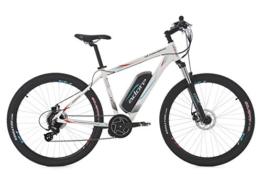 "E-Bike MTB Hardtail 27,5"" Mt. TOWNSEND weiß 8-Gang RH 46 cm Adore -"
