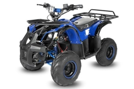 "Eco 1000W Toronto 7"" 48V 20A Atv Bike Elektro Kinderquad Quad (Rot) -"