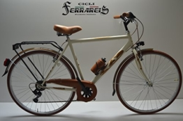 Fahrrad City Bike Trek. Gehstock Strad 28Herren Stahl und Elfenbein und Marro 6V -