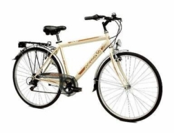 Fahrrad Königin 28City Bike New 952Trekking Herren 7V., weiß, - -