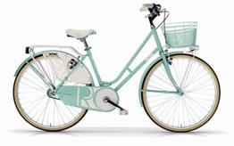Fahrrad Old Style MBM Riviera Frauen mit Stahlrahmen - neue 2016 (Mint) -