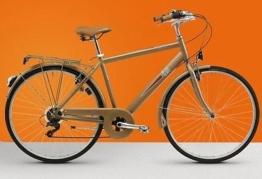 Fahrrad Regina Nostalgia 28Herren Trekking City Bike 7V White -