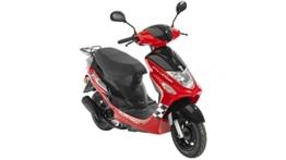 FLEX TECH Motorroller Cityleader, 50 ccm, 45 km/h -