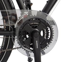 Gregster Herren Aluminium Trekking-Bike Fahrrad StVZO, Schwarz, 28 Zoll, GR-6688 -