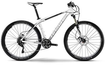 Haibike Edition 7 60 - 27,5 Zoll - Mountainbike - 30-Gang Shimano XT mix - weiss/polish/schwarz (Rahmenhöhe 50) -