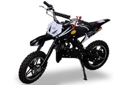 Kinder Mini Crossbike Delta 49 cc 2-takt Dirt Bike Dirtbike Mini Bike Pocket Cross schwarz -