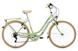 KS Cycling Damen Fahrrad Cityrad Casino 6 Gänge, Grün, 28 Zoll, 700C -