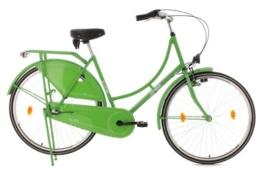KS Cycling Damen Fahrrad Hollandrad Tussaud 3-Gänge, Grün, 28 Zoll, 322H -