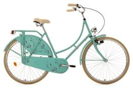 KS Cycling Damen Fahrrad Hollandrad Tussaud singlespeed RH 54 cm, mint matt, 28 Zoll, 336H -