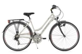 KS Cycling Damen Fahrrad Trekkingrad Vegas RH Flachlenker, Weiß, 28 Zoll, 111T -
