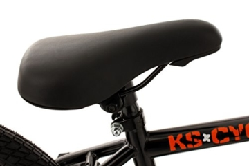 KS Cycling Fahrrad BMX Freestyle Circles, Orange, 20, 543B -