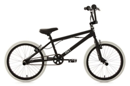 KS Cycling Fahrrad BMX Freestyle Fatt, schwarz, 20, 603B -