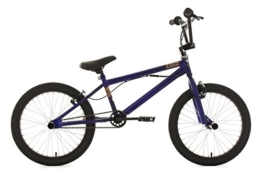KS Cycling  Fahrrad BMX Freestyle Four, blau, 20, 627B -