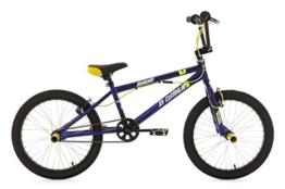 KS Cycling Fahrrad BMX Freestyle Hedonic, blau-gelb, 20, 623B -
