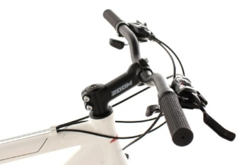 KS Cycling Fahrrad Mountainbike Hardtail Heed RH 53 cm, Weiß, 26, 254B -