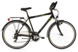 KS Cycling Herren Fahrrad Trekkingrad Alu-Rahmen Metropolis Multipositionslenker, Schwarz, 28 Zoll, 122T -