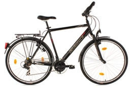 KS Cycling Herren Fahrrad Trekkingrad CLX RH 53 cm, Schwarz, 28, 356B -