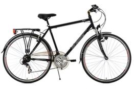 KS Cycling Herren Fahrrad Trekkingrad Vegas RH 53 cm Flachlenker, Schwarz, 28, 101T -