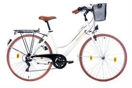 Leader Elysee Comfort 28 Zoll Citybike Weiß (2016) -
