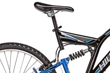 Mountainbike 26 Zoll Hillside Everest in schwarz 26'' Fahrrad Bike Fully vollgefedert 21 Gänge Damen Herren -