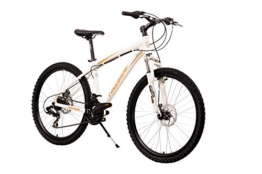 Mountainbike 26 Zoll NYX von Hillside in weiß MTB Fahrrad Scheibenbremsen 21 Gang Schaltung 16 Zoll RH -