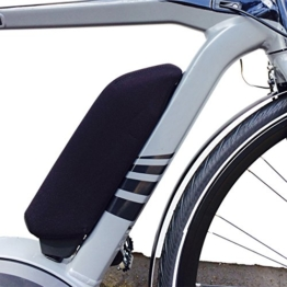 NC-17 E-bike Akku Schutzhülle Batterie Thermo Cover für Bosch Rahmen, Schwarz, One size, 4205 -
