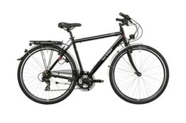 Ortler Lindau Herren schwarz glanz Rahmengröße 59 cm 2016 Trekkingrad -