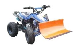 """Quad ATV 125 ccm """"Speedy"""" mit Schneeschieber Schneeschild Schneeräumer -"""