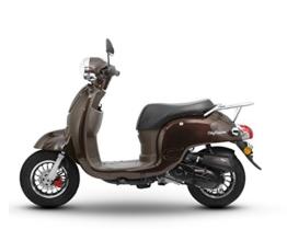 Retro Roller CityCruiser 50 49 mokka-braun Motorroller Scooter Moped Mofa Cruiser braun -