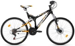 SPRINT Mountainbike 26 Zoll /PA-26x/, MTB, Shimano 18 Gang, vollgefedert, Scheibenbremse, Modell 2015 -