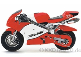 Topnethandel5!!!!! MONZA BIKE Pocketbike 49cc, Kinderbike, Rennbike, Dirtbike, Mnibike, verschiedene Farben BLACK / ROT / GRUEN / BLAU PB008S -