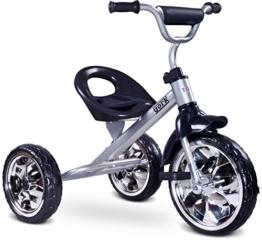 Toyz 5902021523733 - York Kinder Dreirad, grau -