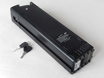 vhbw Li-Ion Akku 10400mAh (36.3V) für ebike Elektrofahrrad Prophete Damen E-Bike Alu-City 26 Zoll ECC400 wie Samsung SDI 36V Sitzrohr-Akku. -