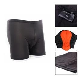 3D gepolstert Fahrrad Radfahren/Reiten kurze Hose Unterwäsche Shorts(S) M-FS001S -
