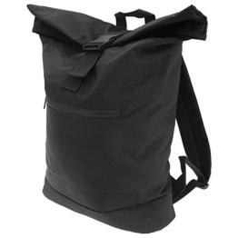Bagbase Roll-Top Rucksack (12 Liter) (Einheitsgröße) (Schwarz) -