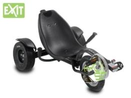 EXIT Triker Pro 50 Black 20.15.02.00 / Kinder Trike / 6 bis 12 Jahre / Max. 75 kg / Fahrergröße ab 120cm bis 160cm -