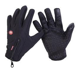 Extsud Winter Skihandschuhe Outdoor Wasserdicht Radfahren Jagd Klettern Sport Handschuhe Fahrradhandschuhe mit Touchscreen Funktion für Smartphones -